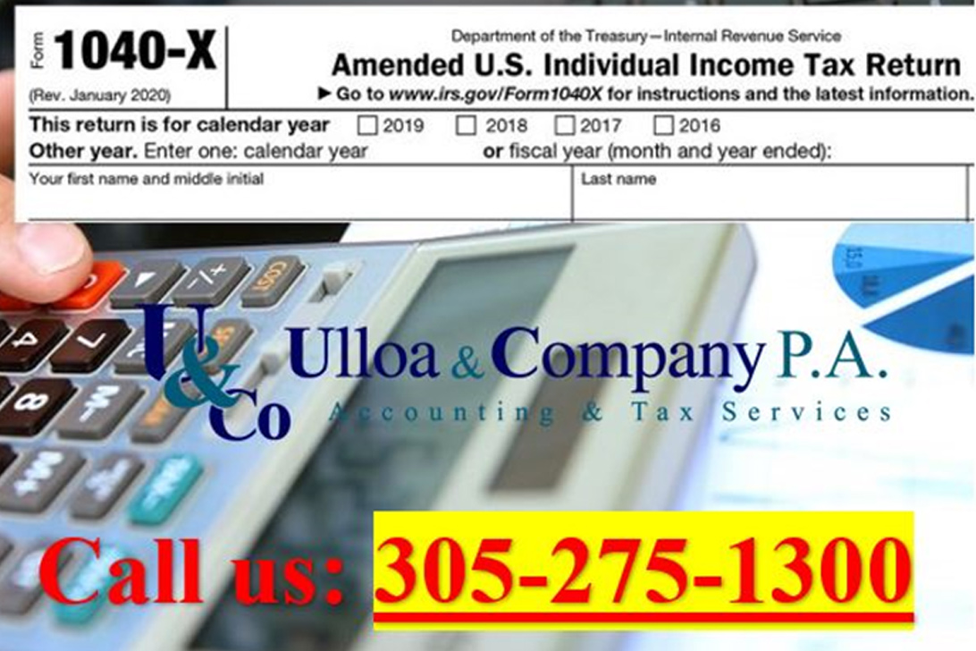 Tax Amended